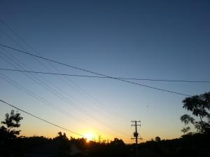 Sunset 6th July 2015 Mount Gravatt, Queensland, Australia Taken by Karletta Abianac