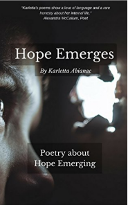 Cover for Hope Emerges poetry anthology on Kindle